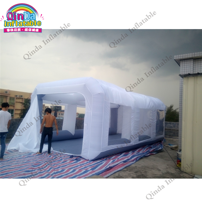 Spray booth Inflatable Portable Auto Paint for Sale inflatable paint workshop with blowers