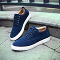 The new men's suede shoes Korean version of England increased influx of casual shoes canvas shoes men shoes 9036