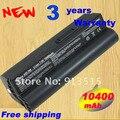 10400 mah batería para asus eee pc eeepc 700 701 701c 801 900 a22-700 a22-p701 negro + envío libre