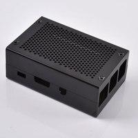 라스베리 파이 3 b + 에 대한 새로운 블랙 알루미늄 합금 보호 케이스 인클로저 박스