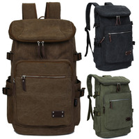 Canvas 15 15 6 Inch Computer Laptop Notebook Backpack Bags Case Outdoor Sports School Backpack For