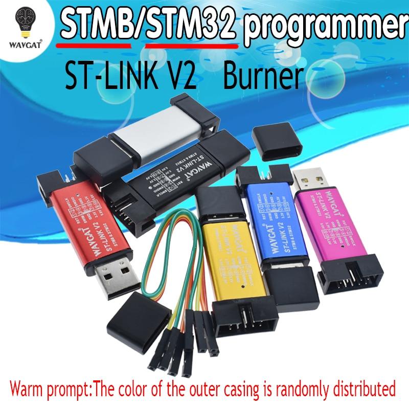 ST-Link V2 New Stlink Mini STM8STM32 STLINK Simulator Download Programming With Cover