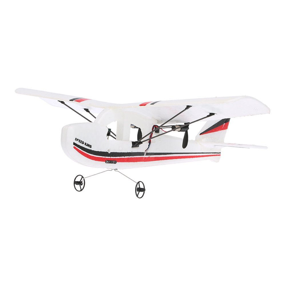 EBOYU(TM) Volantex RC TW781 Cessna 2.4G 2CH RC Airplane 200mm Wingspan Mini EPP Infrared Remote Control Indoor Drone Aircraft