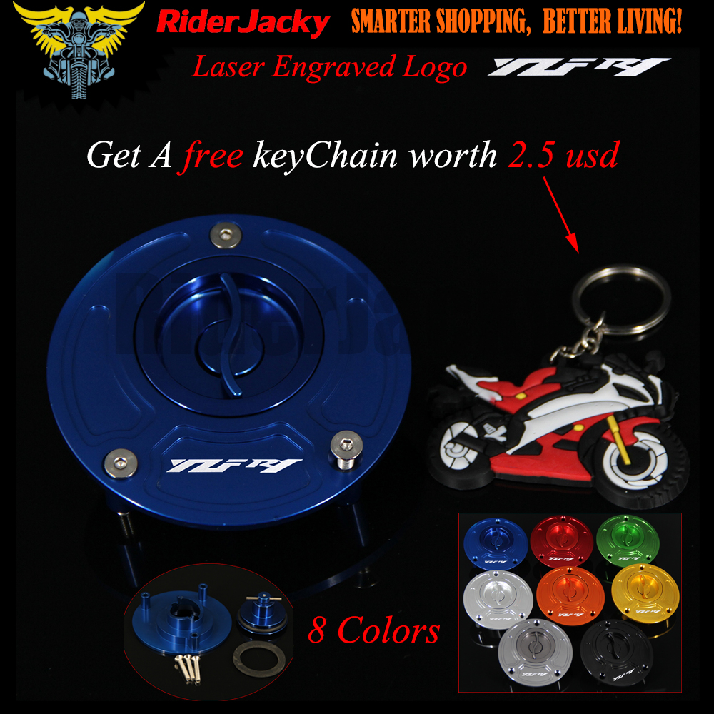 CNC Aluminum Keyless Motorcycle Accessories Fuel Gas Tank Cap Cover For Yamaha YZFR1 YZF R1 All year 1999-2017 2014 2015 2016 mtele brand 62 pcs pcs magnetic tiles designer construction kids educational toys creative bricks enlighten toy