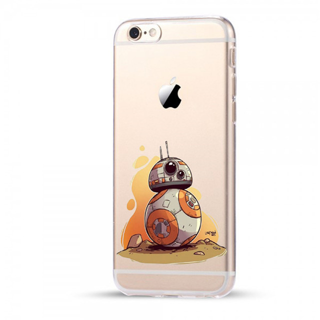 Star Wars Soft TPU Silicone iPhone Case (5 Styles)