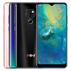 """Xgody Коврики 20 4G 6,26 """"19:9 Android 9,0 Face ID 2 Гб Оперативная память 16 Гб Встроенная память 3500 мА/ч, мобильный телефон MT6737 4 ядра полный Экран смартфон"""