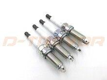 4 pcs/lot Brand New PLZKAR6A-11 22401-CK81B Iridium spark plugs For NISSAN X-TRAIL QASHQAI NV200 NOTE 22401CK81B