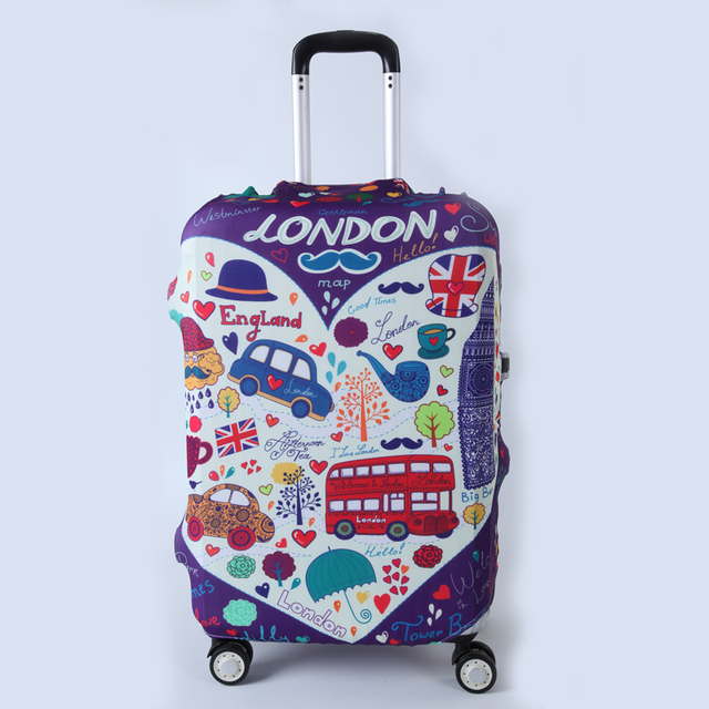 "1pcs Travel Luggage Suitcase Protective Cover for Trunk Case Apply to 19""-32"" Suitcase Cover Thick Elastic Perfectly"