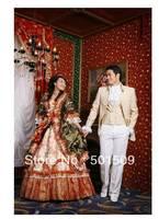medieval dress Renaissance Gown queen costume Victorian /Marie Antoinette/civil war/Colonial Belle Ball