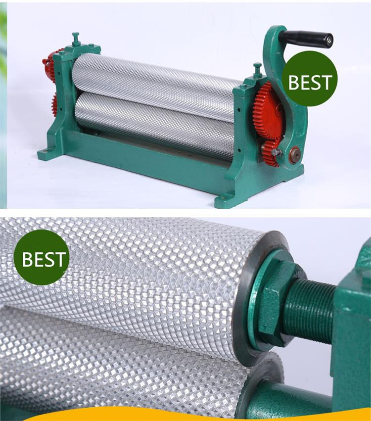 450mm Hand-operated Beeswax Foundation Sheet Machine/Beeswax Machine Foundation