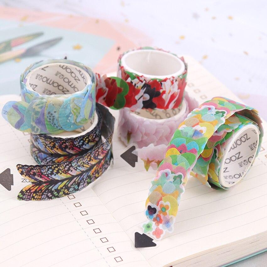 Cute Sakura Cat Decorative Washi Tape DIY Scrapbooking Masking Tape School Office Stationery Supply