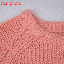 Simenual sweaters fashion 2018 women clothing loose casual solid pullovers knitwear autumn winter sweater ladies jumper 7 colors