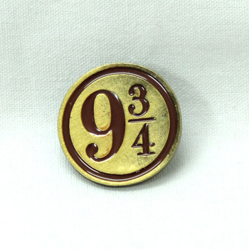 Брошка гарри поттер Платформа 9 3/4