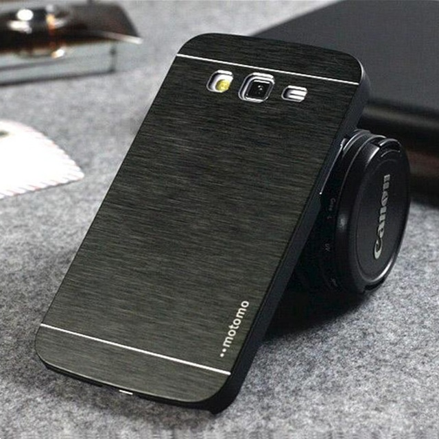 meet 3b28f 80044 US $3.1 |LANCASE For Samsung Galaxy J5 2016 Prime Case Motomo Metal  Aluminum Brush PC Hard Case Cover For Samsung J5 J7 Prime J3 J7 Cases-in  Fitted ...