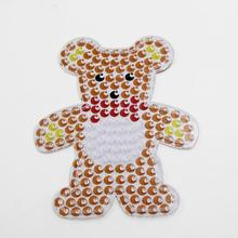 Bear pegboard for 10mm artkal fuse beads kids educational toy XP08