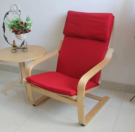 nordic armrest lounge chair armchair sofa chair recliner chair cheap cloth cotton ikea birch woodin restaurant chairs from furniture on