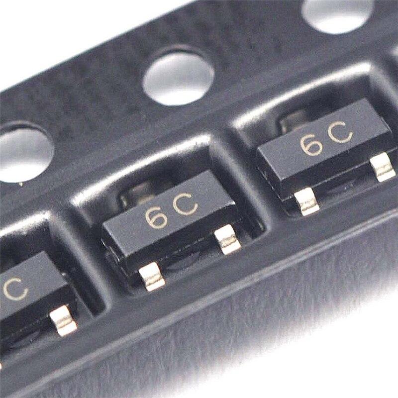 XNWY Patch Transistor 6C 0.1A/45V NPN SOT23 BC817-40