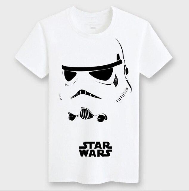 2a7e75c1 Fashion Star Wars t-Shirt Design Round Neck Ringer Short Sleeve Mens Cool T  shirt Brand Boy Tee shirt European Style