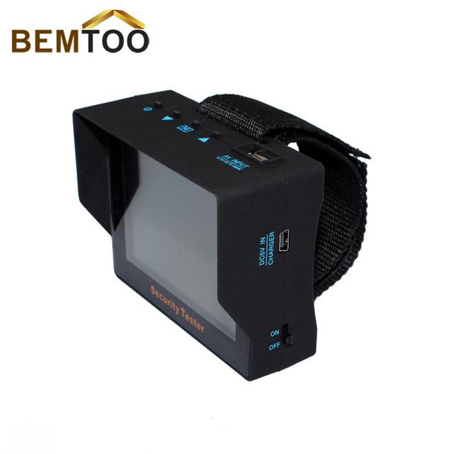 Envío Libre Más Nuevo Producto BEMTOO 3.5 pulgadas TFT LCD Monitor en Color de Vigilancia de Seguridad CCTV Probador de La Cámara, Dropshipping