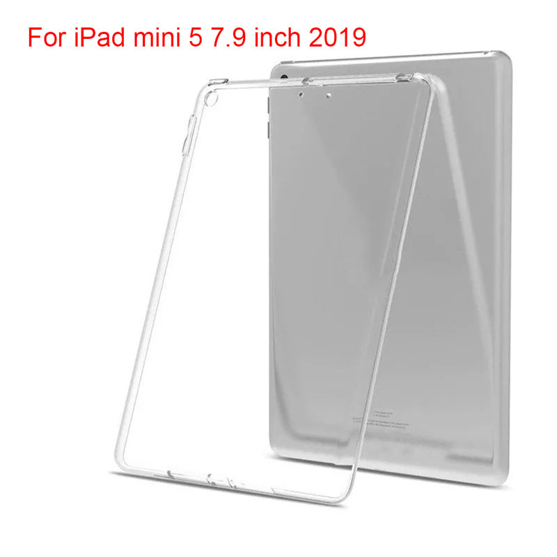 Soft TPU Transparent Silicone Tablet Case for Apple iPad mini 5 7.9 7.9 inch 2019 Case For IPad Mini5 Cover Silicon Coque      Soft TPU Transparent Silicone Tablet Case for Apple iPad mini 5 7.9 7.9 inch 2019 Case For IPad Mini5 Cover Silicon Coque