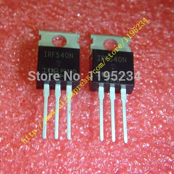 mosfet irf540