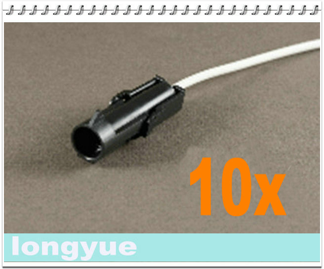 longyue 10pcs 1 Way male comnector pig tail Weather Pack Wire ... on square pin weather pack connectors, weather pack fittings, weather pack plugs, weather pack tools, weather pack terminal connectors, weather pack sockets,