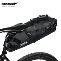 Rhinowalk Bike Bag Bicycle Saddle Tail Seat 10L Full Waterproof Storage Bags Cycling Rear Pack Luggage Panniers Accessories