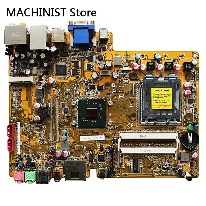 Original For ASUS MINI CS5110 CS5111 P5K3L_X/S1 P5G35 P5K3L desktop motherboard  LGA 775 Intel G31 DDR2