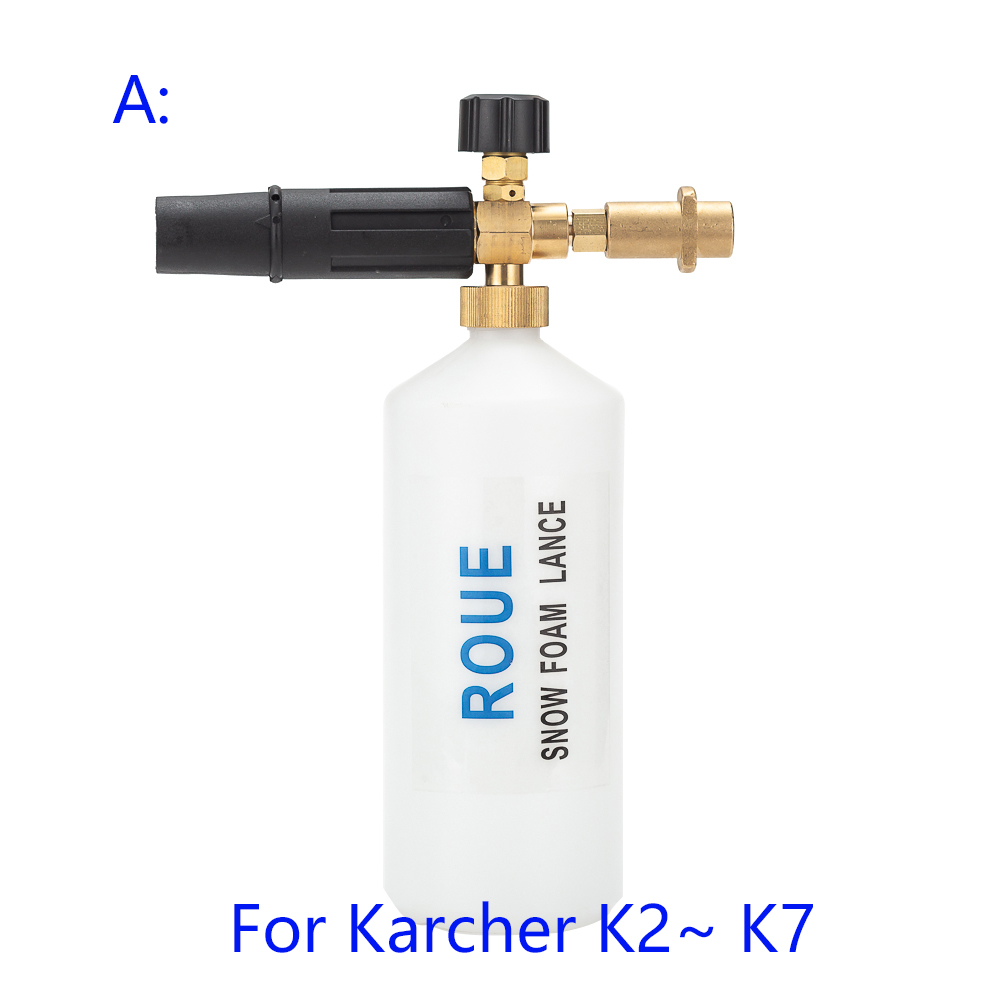 Image 2 - Foam Generator/Snow Foam Lance Foam Nozzle for Karcher K2 K3 K4 K5 K6 K7 High Pressure Cleaners-in Water Gun & Snow Foam Lance from Automobiles & Motorcycles