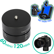Фотография алюминий панорамирование 360 градусов синхронизации вращающийся промежуток времени камера штатив головка адаптер для Canon Nikon DSLR Gopro