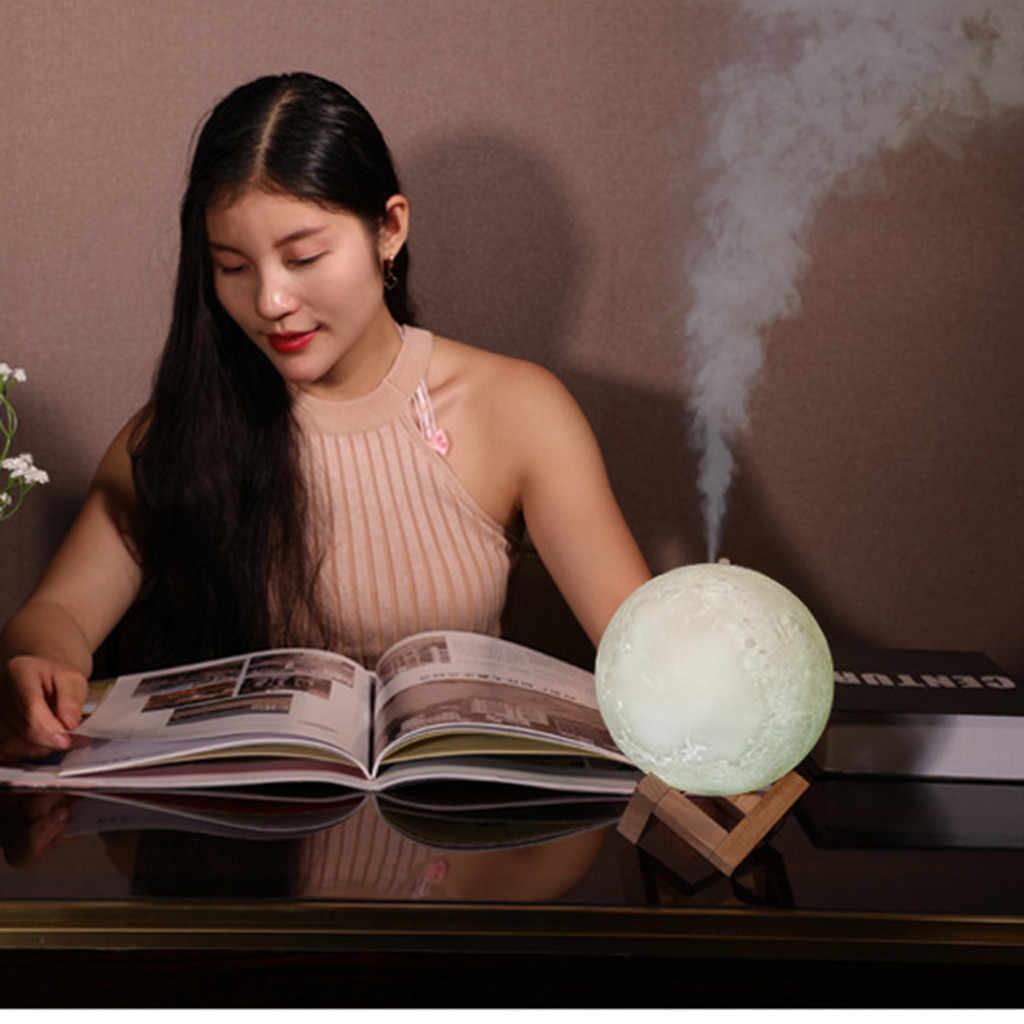 Увлажнитель воздуха Moon ShapePortable Mini Home USB увлажнитель воздуха очиститель Распылитель Очиститель воздуха диффузор увлажнитель воздуха для тумана