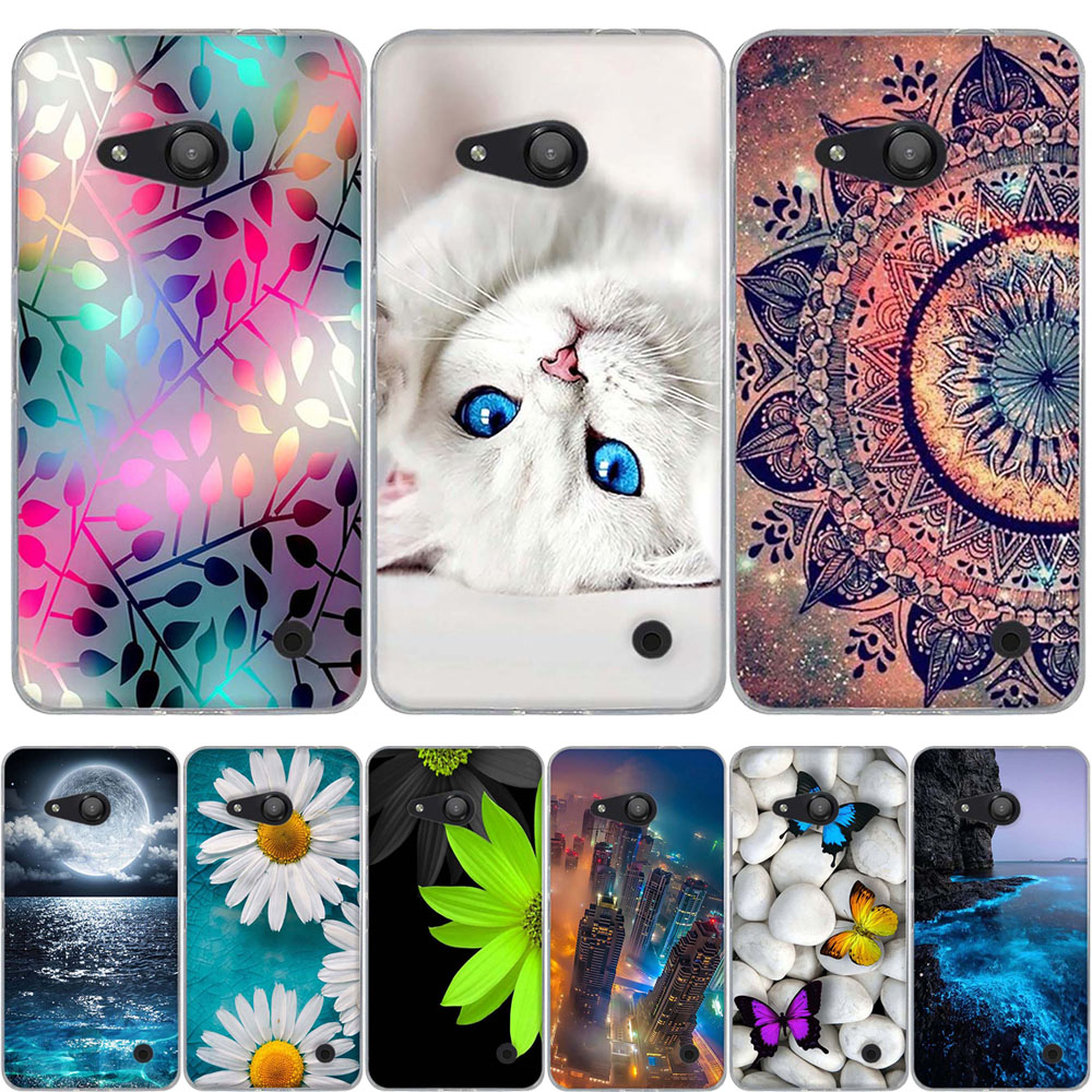 Clothing, Shoes & Accessories Case For Microsoft Nokia Lumia 640xl 640 Xl Wallet Shining Coque Flower Butterfly Leather Case Stand Flip Phone Protect Cover 100% Guarantee