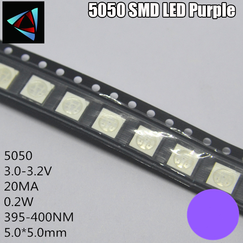 Diodes 200pcs 5050 Smd Green Plcc-6 3-chips 9000 Mcd Ultra Bright Led High Quality Light-emitting Diodes 5050 Green Led 5050 Diodes Products Hot Sale Active Components