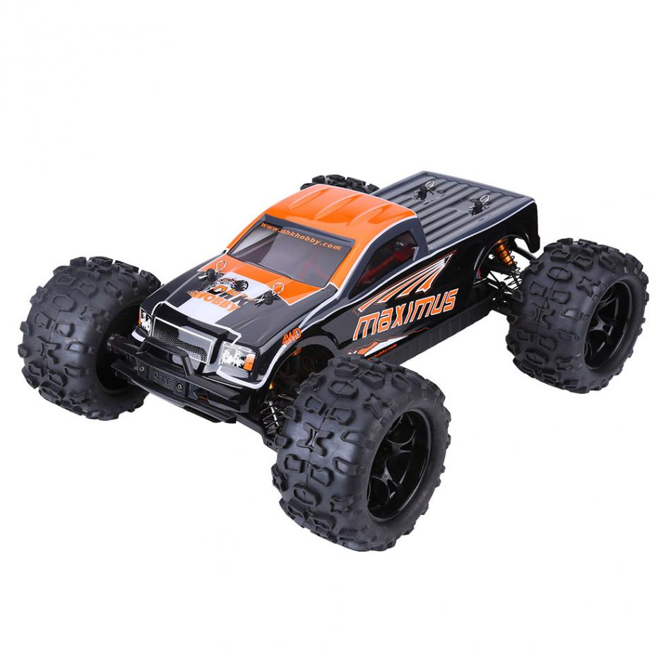 New Brand 2 Types Remote Control Car Electric 2.4GHz Remote Control Four-Wheel Drive 85KM/ H RC Vehicle Car 1:8 RC Model Toy