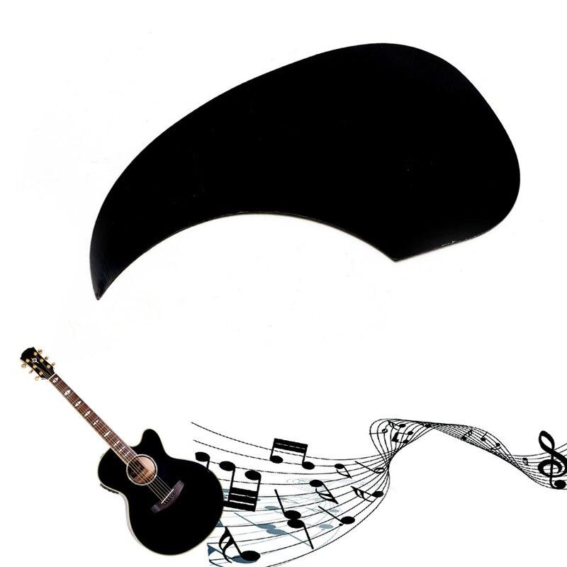 Celluloid Pickguard Scratch Plate Pick Guard For Acoustic Guitar Black Guitar Parts