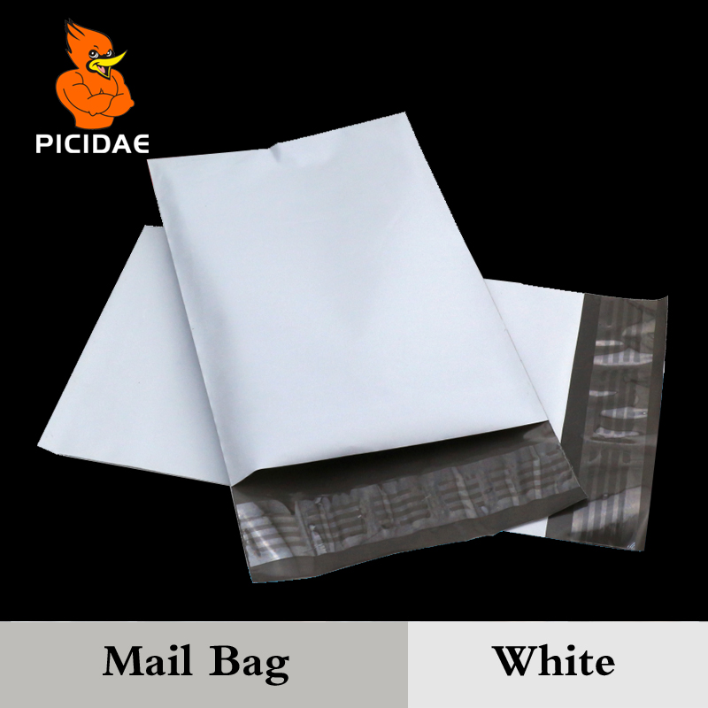 Mail Packaging Poly Mailer Package Shipping Plastic Mailing Bag By Envelope Courier White Wholesale Bulk zelfklevende benodigdheden