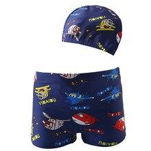 Funfeliz Baby Swimsuit Boy Swimming Trunks Cute Pool boys swimwear kids Summer Cartoon Beachwear