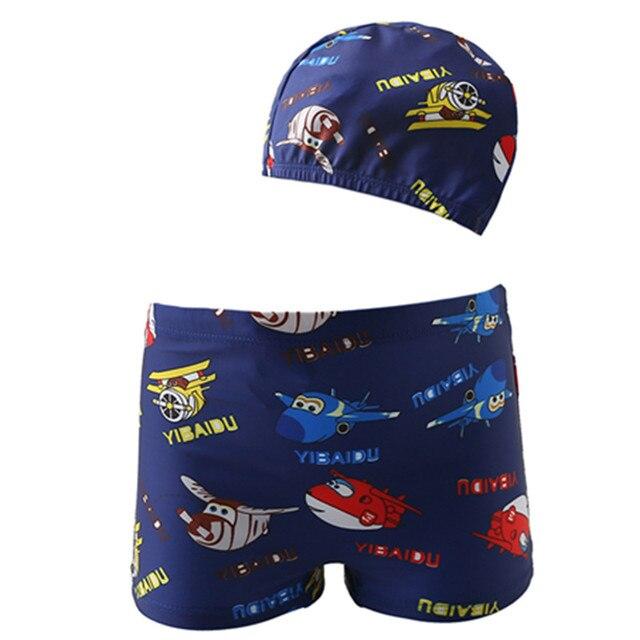 0a7b06a9386f3 Funfeliz Baby Swimsuit Baby Boy Swimming Trunks Cute Pool boys swimwear  kids Summer Cartoon Beachwear
