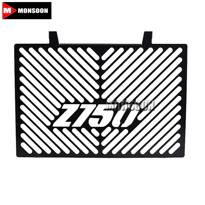For KAWASAKI Z750 Z 750 2008-2012 2009 2010 2011 Motorcycle Accessories Radiator Grille Guard Cover Black motorcycle radiator grille protective cover grill guard protector for 2008 2009 2010 2011 2012 2016 suzuki hayabusa gsxr1300