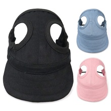 1PC Hot sale Solid Hat For Dogs Cute Pet Casual Baseball Cap Chihuahua Yorkshire Products S-XL