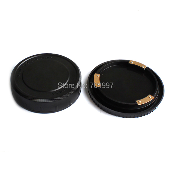 Lens Rear Cap and Body Cap work for Pentax 67
