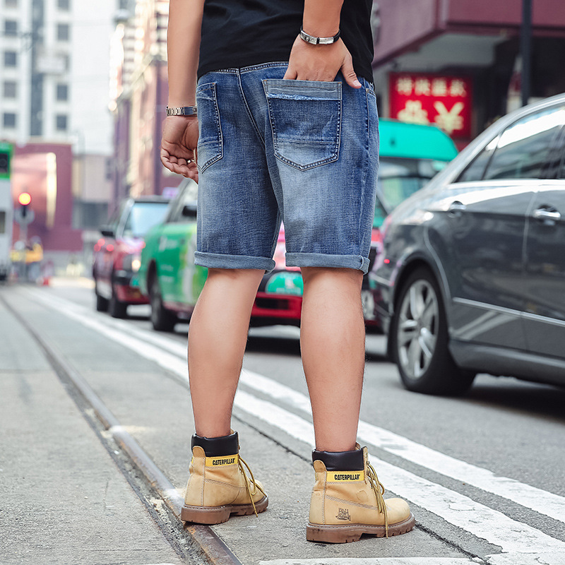 9fe9b6a3 Mens Shorts 2018 Summer Plus Size 40 42 44 46 Big and Tall Mens Jeans Shorts  Casual Blue Denim Jeans Shorts Big Size S 6XL Male-in Jeans from Men's  Clothing ...