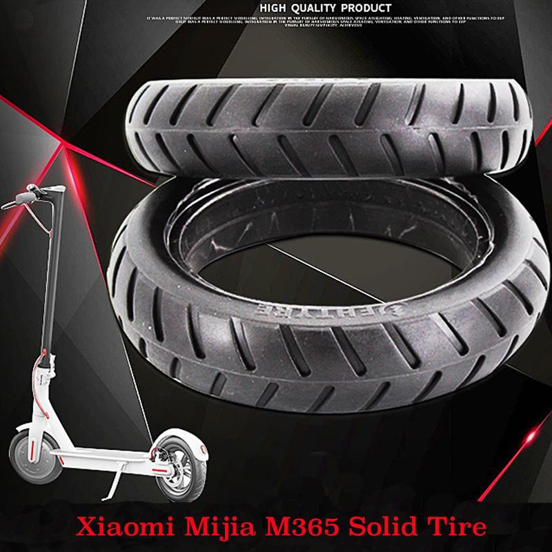 Xiaomi Mijia M365 Scooter Solid Tire Skateboard Tyre Wheels 8 1/2X2 for Xiaomi Electric Skate Board Avoid Pneumatic Tyre Upgrade