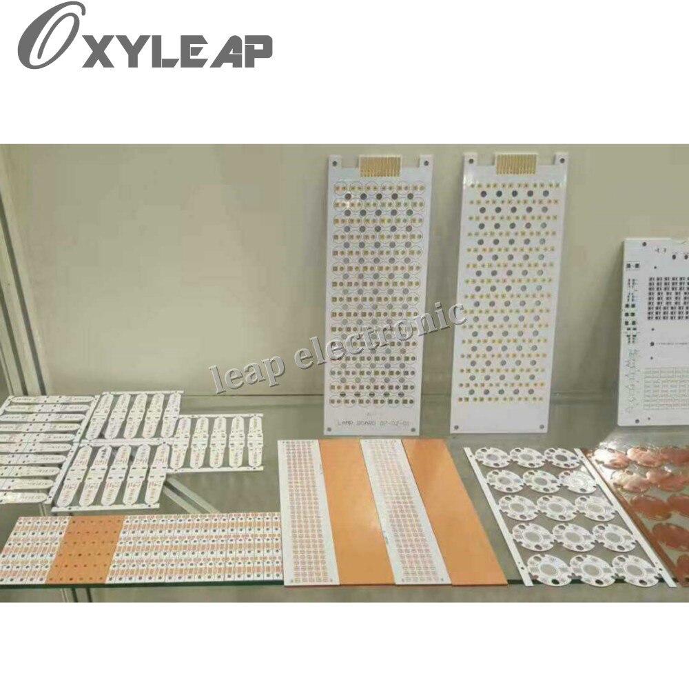 Aluminum Pcba Printed Circuit Board Assembly Service Oem Led Pcb Smt Odm Sided Boardpcb Prototype Singleled 5w Powerful