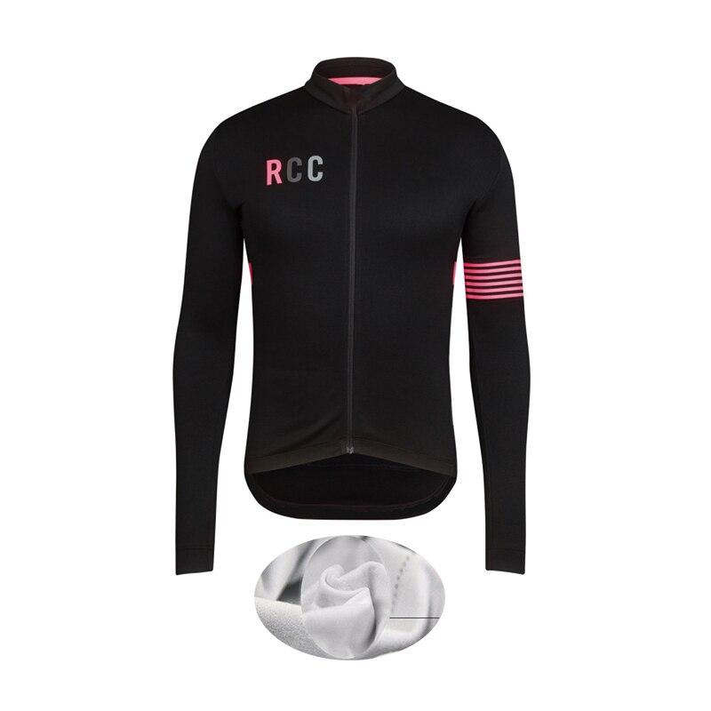 Mtb Clothing Cycling-Jersey Bike Bicycle Fleece Roupa-De-Ciclismo Long Winter Ropa RCC