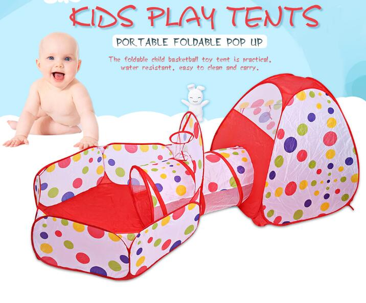 Tents Kids Crawling Play Tent for Baby Cloth House Children Toy Ball Pool for Ocean Ball Play Soft Outdoor Fun Sports Tent