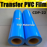 ПВХ теплопередачи винил для плоттера передачи виниловой пленки ПВХ для рубашки с Бесплатная доставка Цвет: CDP 22 Небесно Голубой