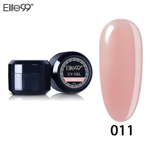 Elite99 8 ml UV Builder Gel Lack Nagel Gel Förderung Längere Nägel Lange Anhaltende Builder Gel Für Nagellack Falsche spitze Erweiterung