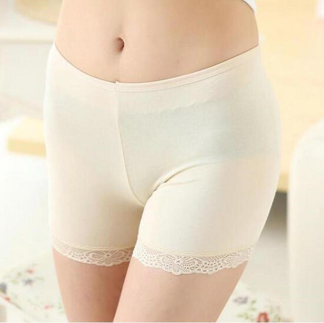 bbd5b08705c548 Nowa Bielizna damska Krótkie Spodnie Bezpieczeństwa Dla Dziewczyna  Koronkowe Szorty Bielizna Figi Figi Modalne Lato Krótka