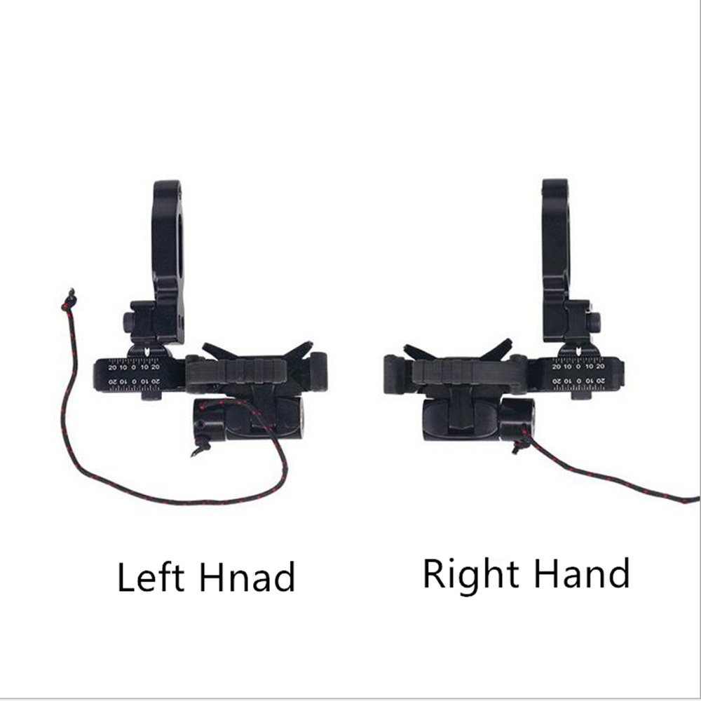 1 Set Compound Bow Arrow Rest High Speed Drop Away Metal Arrow Rest Set Left Hand & Right Hand for Compound Bow Archery Hunting luxury drop away arrow rests fall away right hand purple bow and arrow set dorp proof arrow rest for hunting archery cl51 0005